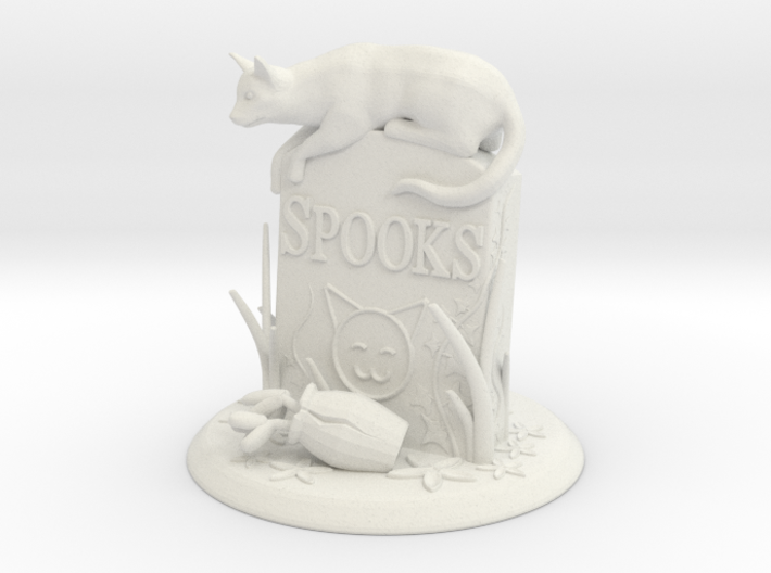 Spooks - Haunting Own Grave 3d printed