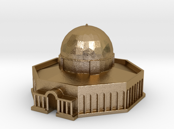 Dome of the Rock 3d printed