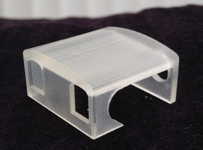 Single Fairlie cab conversion for Taliesin 009 3d printed Printed product ready to be painted