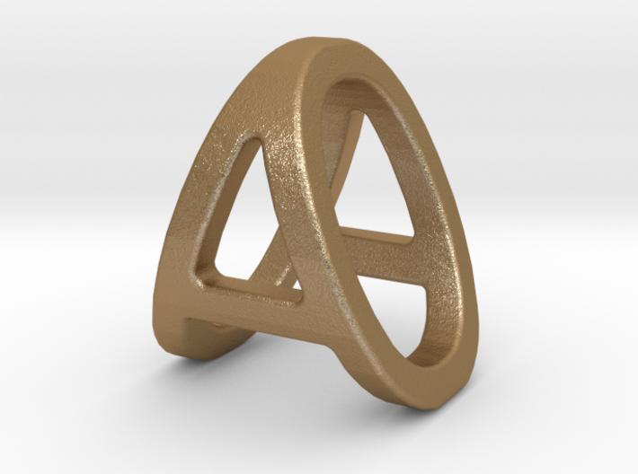 AO OA - Two way letter pendant 3d printed