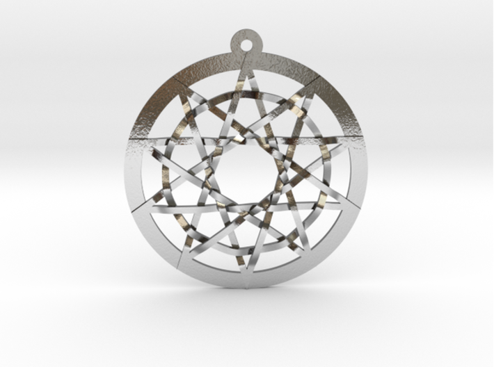 Woven Pentacles 3d printed