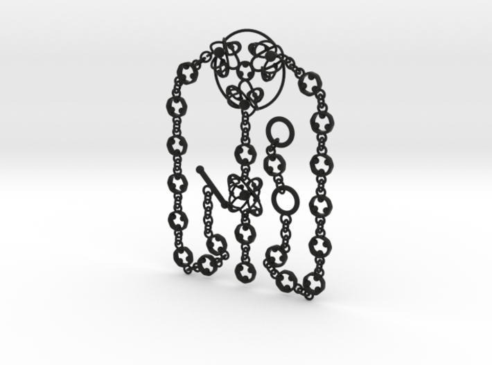 Gothic Necklace Ⅰ 3d printed