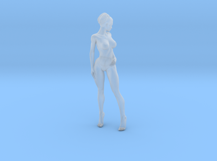 1:24 Strong Woman 004 3d printed