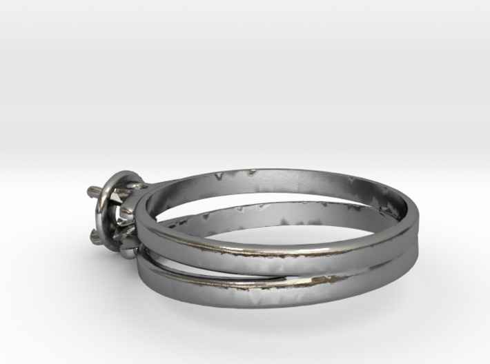 Ø19.10 Mm Diamond Ring Ø4.8 Mm Fit 3d printed