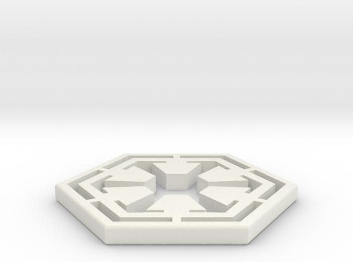 Star War Sith Empire Logo 3d printed