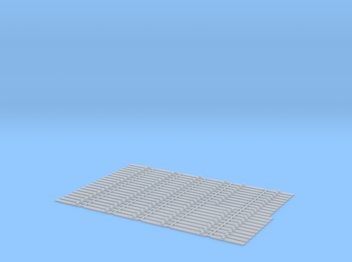 O Scale Num 10 Hook Plate Array (repaired) 3d printed
