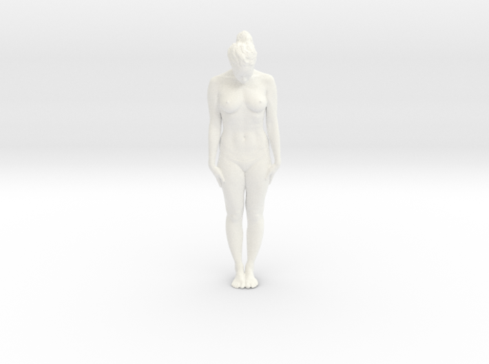 Female Dancer 001 scale in 1/18 3d printed
