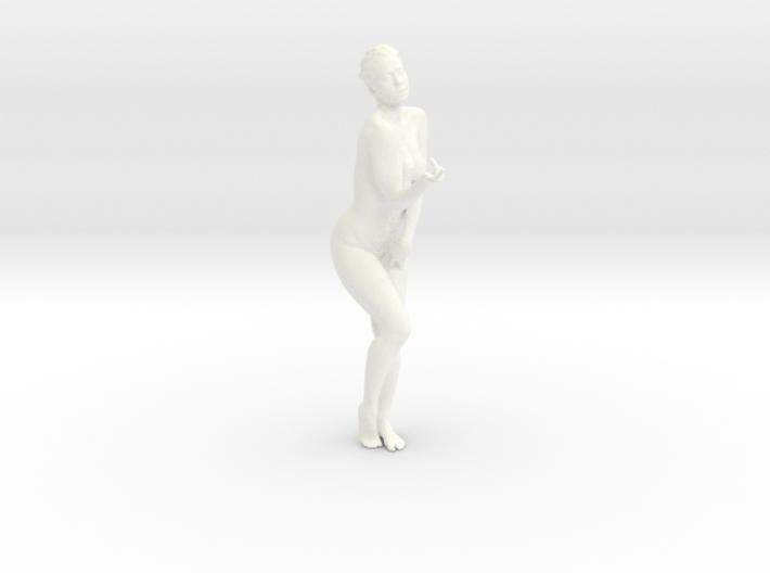 Female Dancer 004 scale in 1/18 3d printed