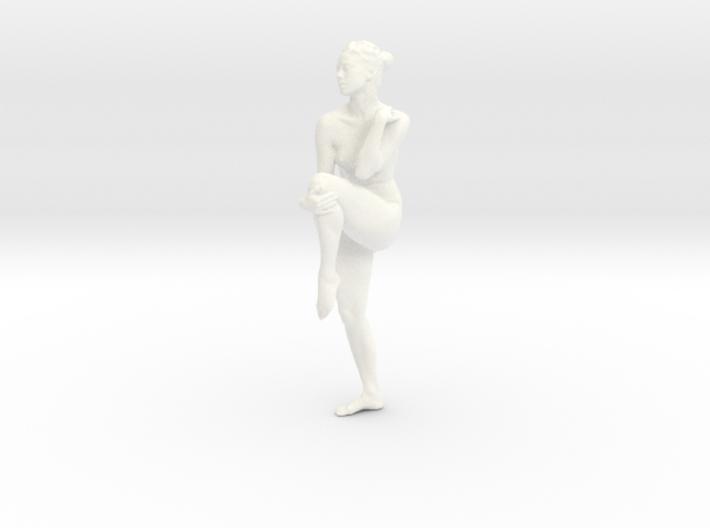 Female Dancer 006 scale in 1/18 3d printed