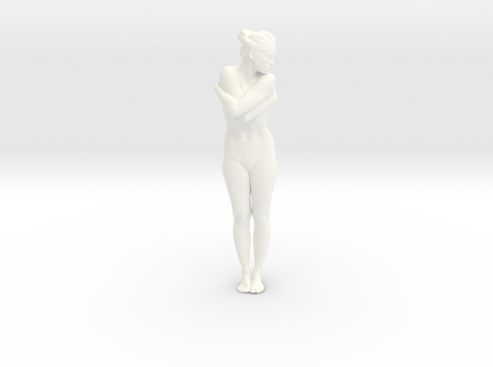 Female Dancer 005 scale in 1/18 3d printed