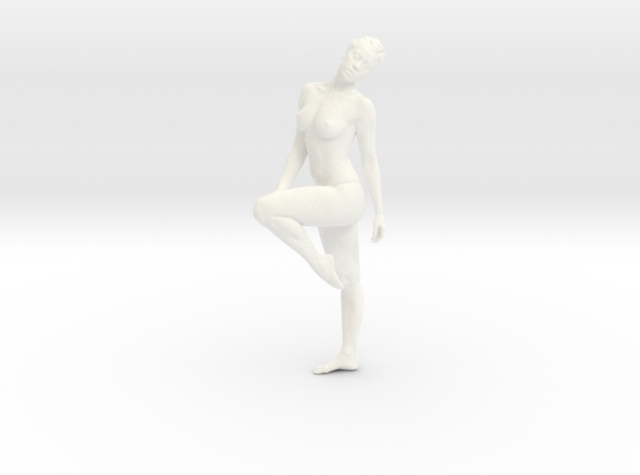 Female Dancer 009 scale in 1/18 3d printed