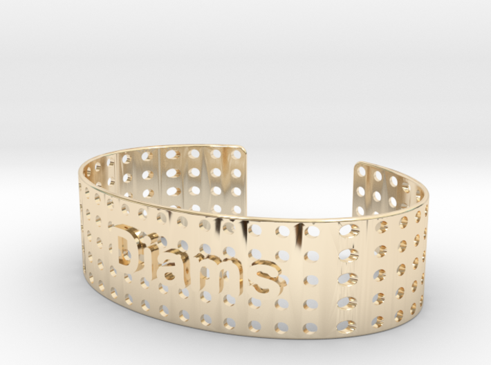 Bracelet Diams 20mm 3d printed