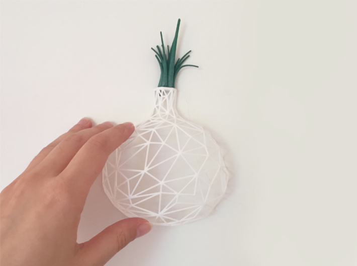 Wired Onion 3d printed
