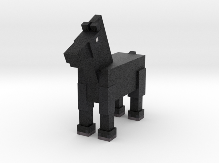 Horse 024 3d printed