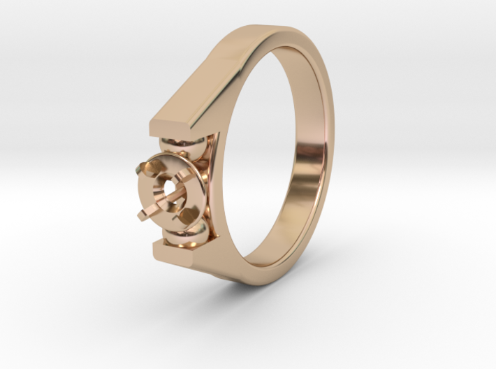 Ø20.57 Mm Diamond Ring Ø4.8 Mm Fit 3d printed