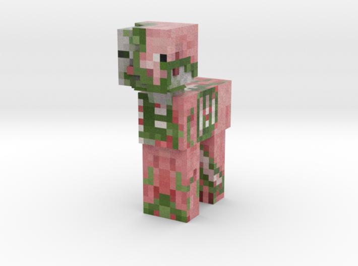 Zombie Pigman Pony 3d printed