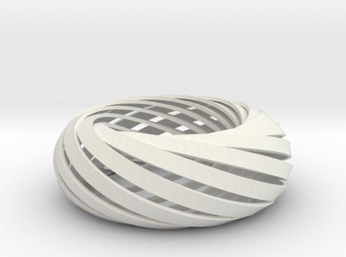 Torus of Mobius Strips 3d printed