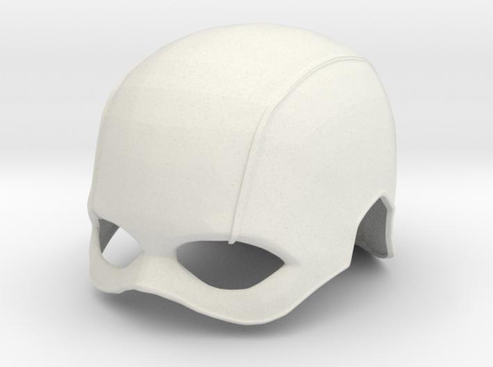 Captain America TFA Helmet 3d printed Captain America TFA helmet