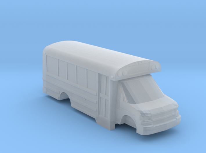 n scale thomas minotour chevy express school bus 3d printed