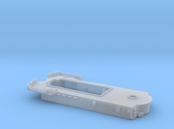 HMAS Vampire 1/350 Forward Superstructure 3d printed
