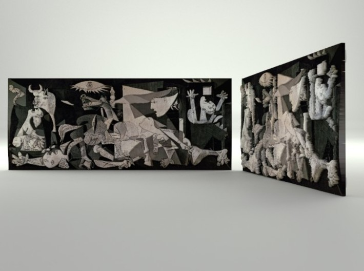 Guernica (Picasso) 3d printed