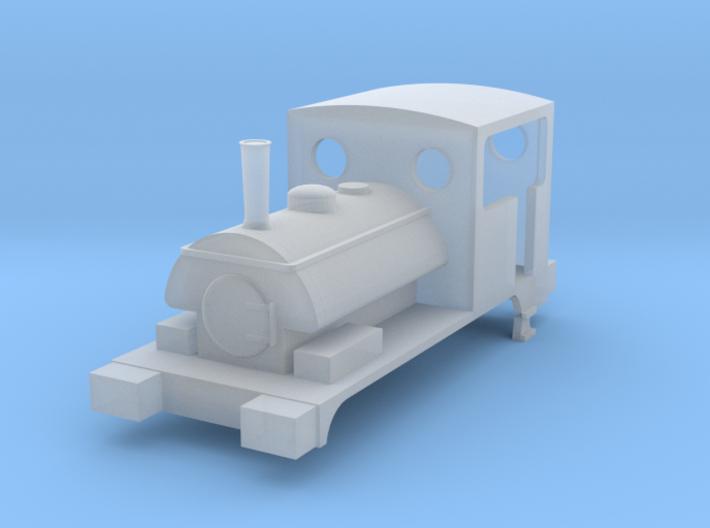 """N gauge L&Y Railway Class 21 """"Pug"""" 0-4-0 3d printed"""