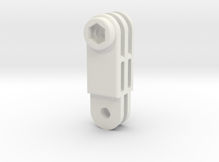 GoPro simple connector straight M 3d printed