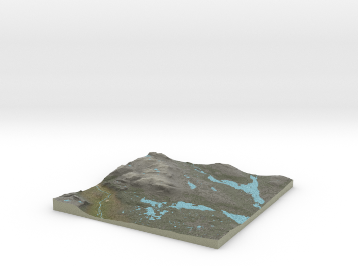 Terrafab generated model Tue Aug 18 2015 21:20:18 3d printed