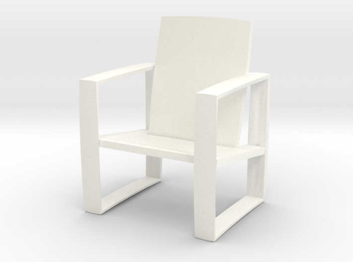 luxury lounge chair 3d printed
