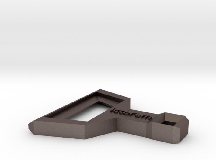 ictbram keychain bottle opener 3d printed