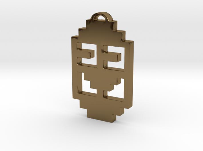 "Journey Pendant- ""Koko"" Symbol 3d printed"