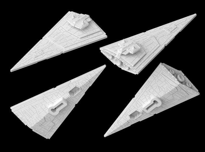 Vindicator Cruiser (1/7000) 3d printed