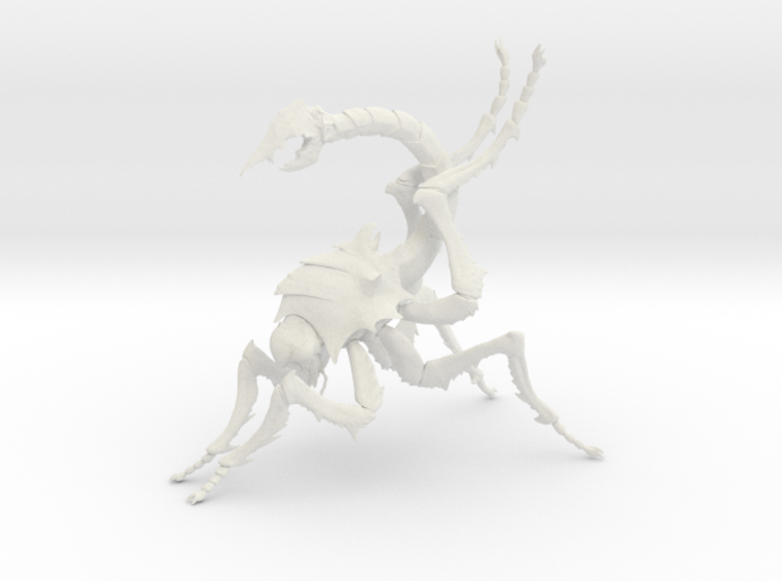 Insect 14 Hollow 1mm 3d printed