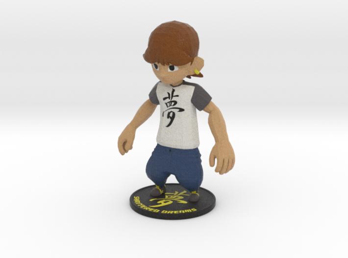 Shattered Dreams Main Character 3d printed