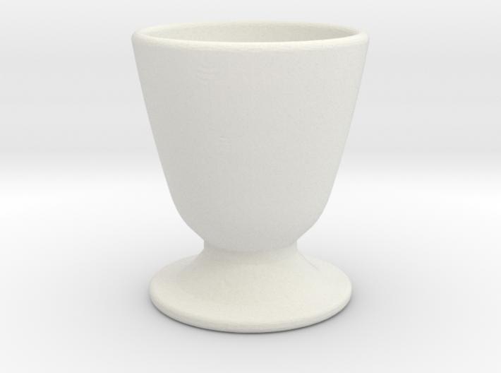 Test upload Basic-eggcup 3d printed