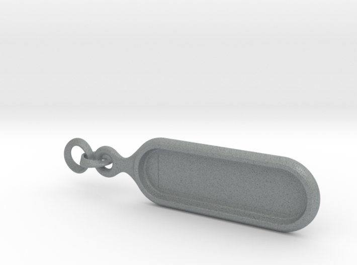 Biolace customizable keychain 3d printed