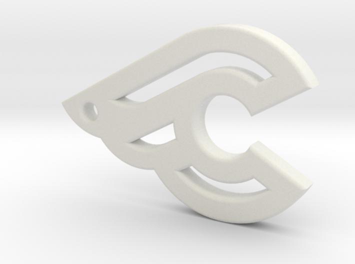 Cinelli keychain 3d printed
