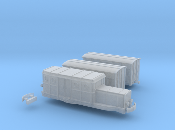 Beast+2 Wagons - Zm 3d printed