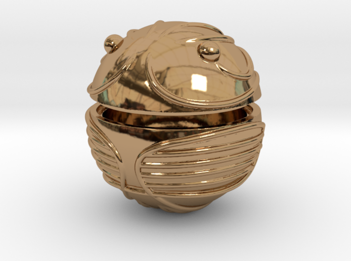 Golden Snitch HOLLOW GIFT BOX 3d printed