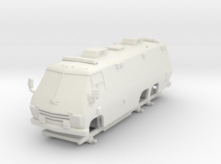 1-64 Scale 1975 Big Ambulance 3d printed