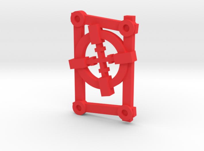 Rune: Ulru - Small (Cross-hair) 3d printed