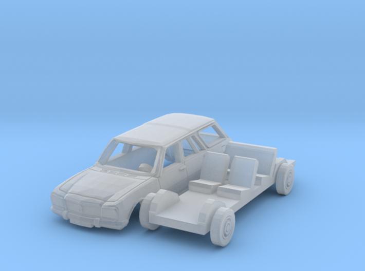 Peugeot 504 Break (TT 1:120) 3d printed