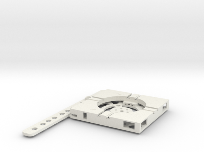 T-65-wagon-turntable-36d-75-plus-base-flat-1a 3d printed