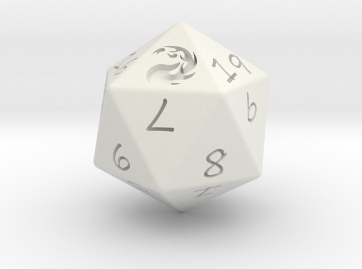D20 Mountain 3d printed
