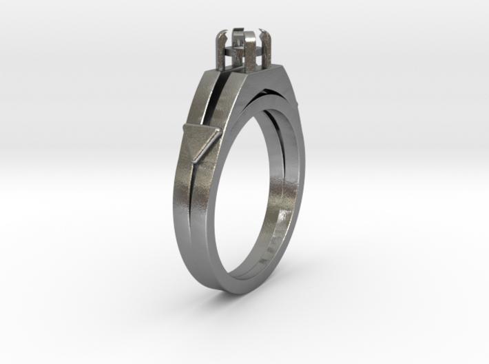 Ø16.51 Mm Diamond Ring Ø3.7 Mm Round Fit 3d printed