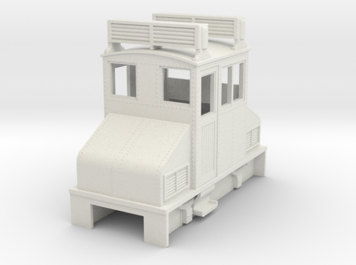 Sn2 Centercab Gas loco 3d printed
