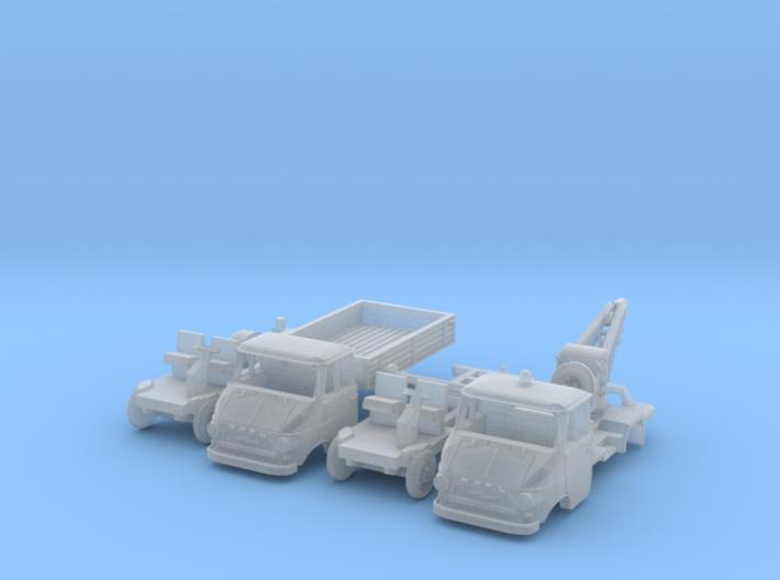 SET 2x Opel Blitz A (TT 1:120) 3d printed