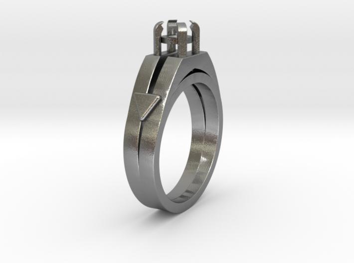 Ø16.51 Mm Diamond Ring Ø4.4 Mm Round Fit 3d printed