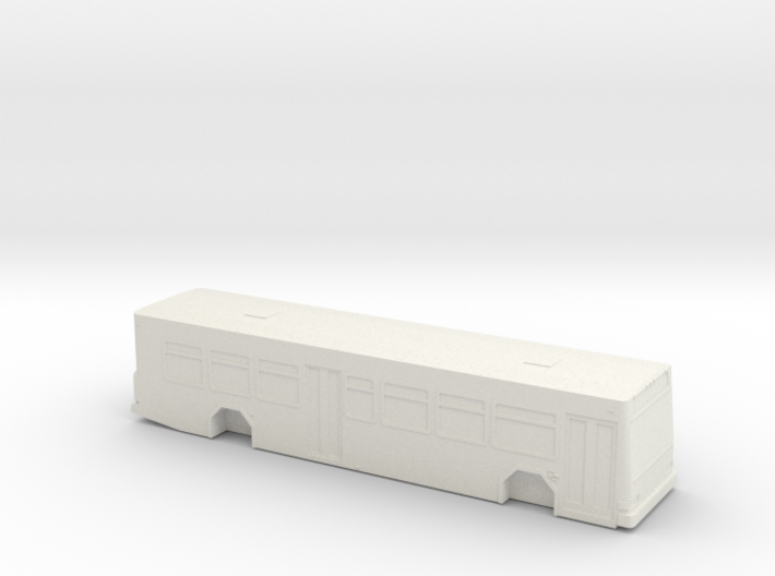 ho scale gillig low floor advantage bus (new) 3d printed