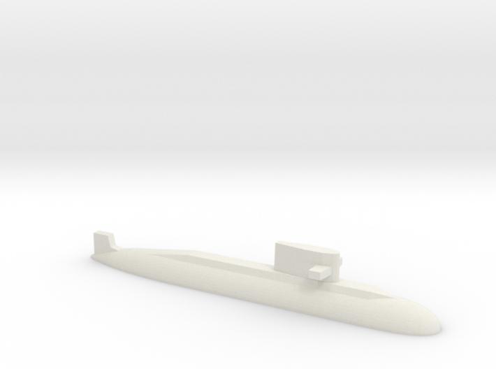 PLA[N] 039A Submarine, 1/1800 3d printed
